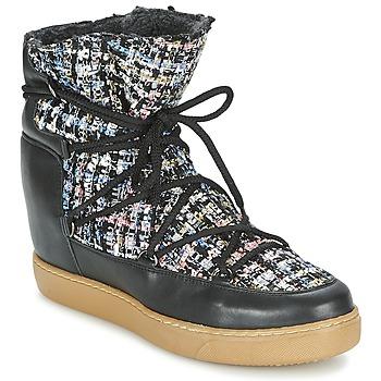 鞋子 女士 短筒靴 Meline DERNA 黑色