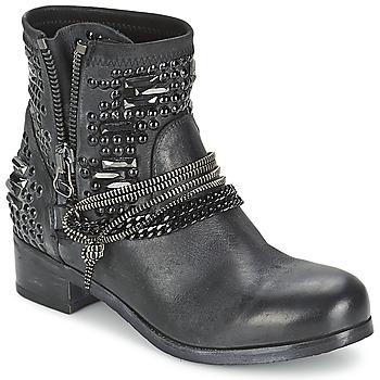 鞋子 女士 短筒靴 MIMMU LIL 黑色