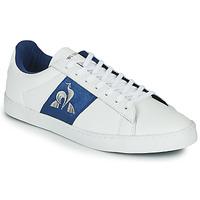 鞋子 女士 球鞋基本款 Le Coq Sportif 乐卡克 ELSA 白色 / 蓝色