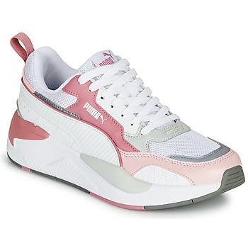 鞋子 女士 球鞋基本款 Puma 彪马 X-RAY 2 白色 / 玫瑰色