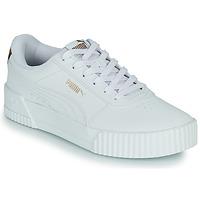 鞋子 女士 球鞋基本款 Puma 彪马 CARINA 白色 / Leopard
