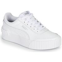 鞋子 女士 球鞋基本款 Puma 彪马 CARINA LIFT 白色