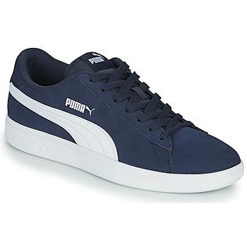 鞋子 男士 球鞋基本款 Puma 彪马 SMASH 海蓝色