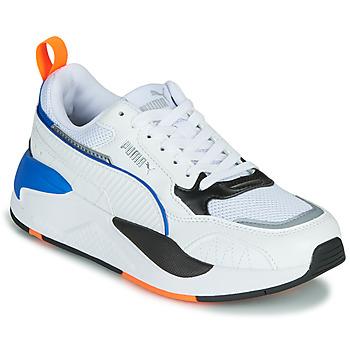 鞋子 儿童 球鞋基本款 Puma 彪马 X-RAY 白色 / 蓝色 / 黑色