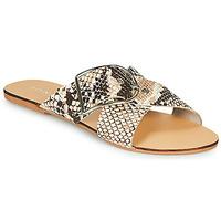 鞋子 女士 休闲凉拖/沙滩鞋 Jonak JASMINE 棕色 / Python
