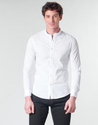 衣服 男士 长袖衬衫 Casual Attitude MASS 白色