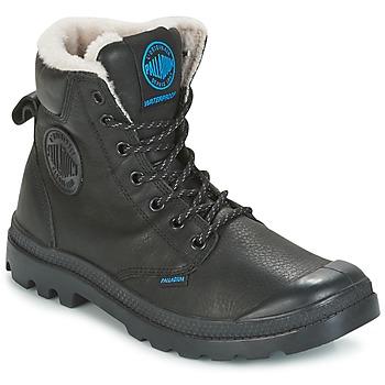 鞋子 男士 短筒靴 Palladium 帕拉丁 PAMPA SPORT WPS 黑色
