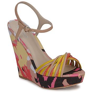 鞋子 女士 凉鞋 Bourne KARMEL 米色 / 多彩
