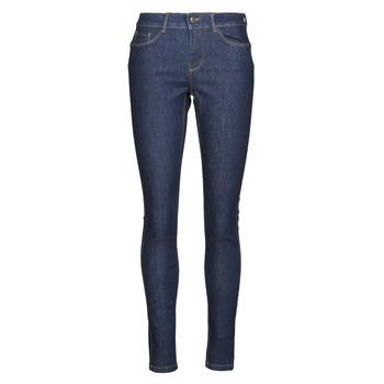 衣服 女士 紧身牛仔裤 Vero Moda VMSEVEN 蓝色