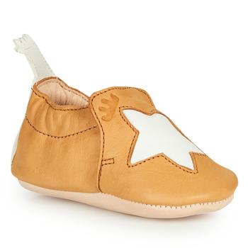 鞋子 儿童 拖鞋 Easy Peasy BLUMOO ETOILE 棕色