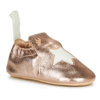 鞋子 儿童 拖鞋 Easy Peasy BLUBLU ETOILE 玫瑰色 / 金色