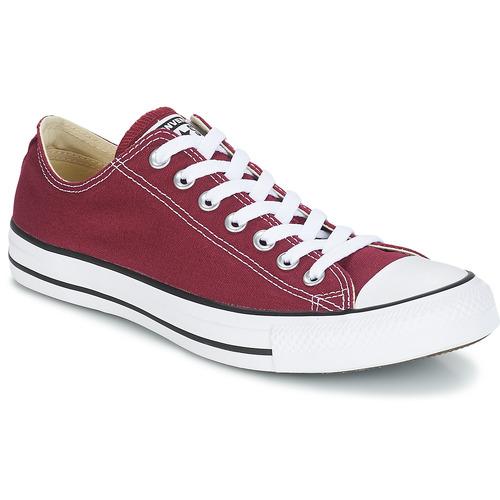 鞋子 球鞋基本款 Converse 匡威 CHUCK TAYLOR ALL STAR CORE OX 波尔多红