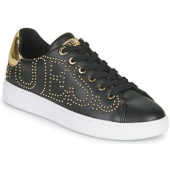 鞋子 女士 球鞋基本款 Guess RAZZ 黑色