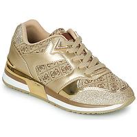 鞋子 女士 球鞋基本款 Guess MOTIV 金色