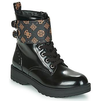 鞋子 女士 短筒靴 Guess WANDA 黑色
