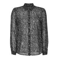 衣服 女士 衬衣/长袖衬衫 Ikks BR12025 黑色