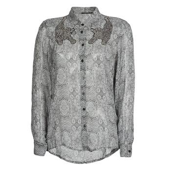 衣服 女士 衬衣/长袖衬衫 Ikks BR12055 黑色