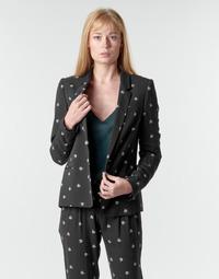 衣服 女士 外套/薄款西服 Ikks BR40115 黑色