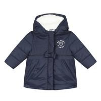 衣服 女孩 羽绒服 3 Pommes 3R42012-49 海蓝色
