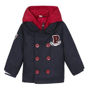 衣服 男孩 大衣 3 Pommes 3R41023-04 海蓝色