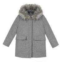衣服 女孩 大衣 3 Pommes 3R44034-220-C 灰色