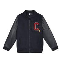 衣服 男孩 夹克 3 Pommes 3R41055-04-C 海蓝色