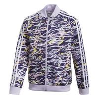 衣服 女孩 运动款外套 Adidas Originals 阿迪达斯三叶草 SST TOP 紫罗兰