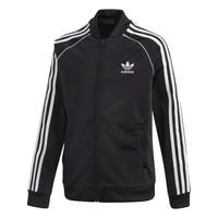 衣服 儿童 运动款外套 Adidas Originals 阿迪达斯三叶草 SST TRACKTOP 黑色