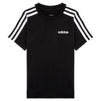 衣服 男孩 短袖体恤 adidas Performance 阿迪达斯运动训练 YB E 3S TEE 黑色