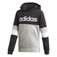 衣服 男孩 卫衣 adidas Performance 阿迪达斯运动训练 YB LIN CB HD FL 黑色 / 灰色