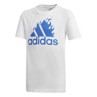 衣服 男孩 短袖体恤 adidas Performance 阿迪达斯运动训练 JB BOS GRAPH 白色