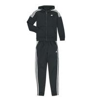 衣服 男孩 厚套装 adidas Performance 阿迪达斯运动训练 JB COTTON TS 黑色