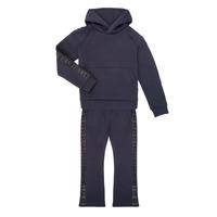 衣服 女孩 厚套装 Emporio Armani 6H3V01-1JDSZ-0920 海蓝色