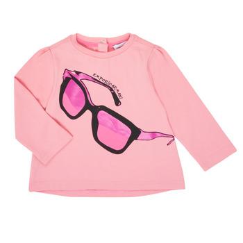 衣服 女孩 长袖T恤 Emporio Armani 6HET02-3J2IZ-0315 玫瑰色