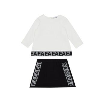 衣服 女孩 女士套装 Emporio Armani 6HEV08-3J3PZ-0101 白色 / 黑色