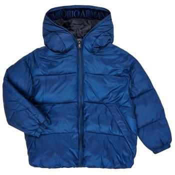 衣服 男孩 羽绒服 Emporio Armani 6H4BF9-1NLYZ-0975 海蓝色
