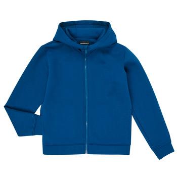 衣服 男孩 卫衣 Emporio Armani 6H4BJM-1JDSZ-0975 蓝色