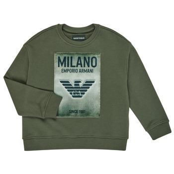 衣服 男孩 卫衣 Emporio Armani 6H4MM1-4J3BZ-0564 卡其色