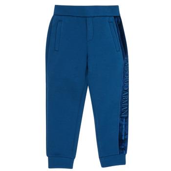 衣服 男孩 厚裤子 Emporio Armani 6H4P84-1JDSZ-0975 海蓝色