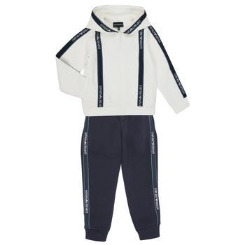 衣服 男孩 厚套装 Emporio Armani 6H4V02-1JDSZ-0101 海蓝色 / 白色