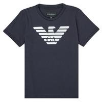 衣服 男孩 短袖体恤 Emporio Armani 8N4T99-1JNQZ-0939 海蓝色