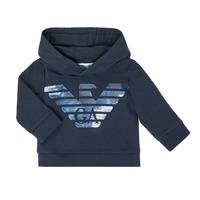 衣服 男孩 卫衣 Emporio Armani 6HHMA9-4JCNZ-0922 海蓝色