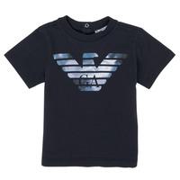 衣服 男孩 短袖体恤 Emporio Armani 6HHTA9-1JDXZ-0920 海蓝色