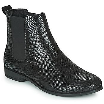 鞋子 女士 短筒靴 TBS MELROSE 黑色