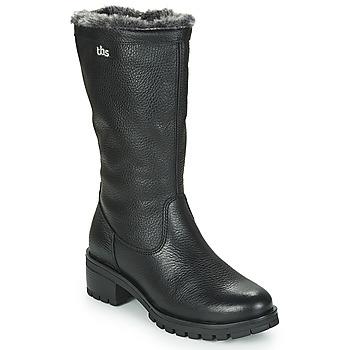 鞋子 女士 都市靴 TBS PHILINA 黑色