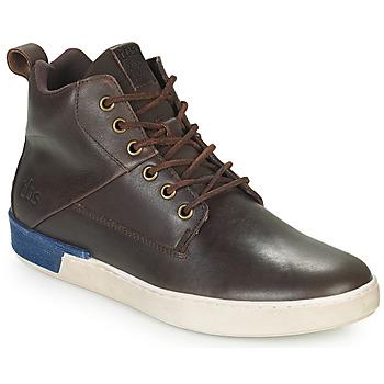 鞋子 男士 高帮鞋 TBS SANDJAY 棕色
