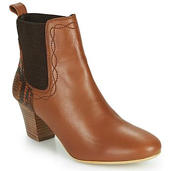 鞋子 女士 短靴 Ravel MOA 驼色