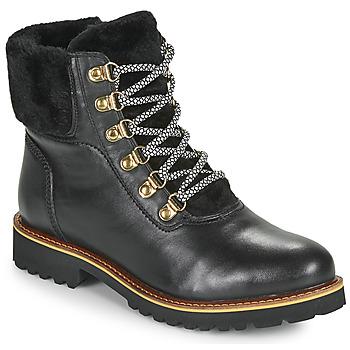 鞋子 女士 短筒靴 Ravel PINAR 黑色