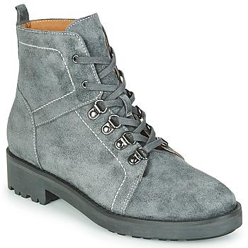 鞋子 女士 短筒靴 KARSTON ONGULE 灰色