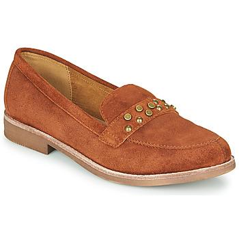 鞋子 女士 皮便鞋 KARSTON ACALI 驼色